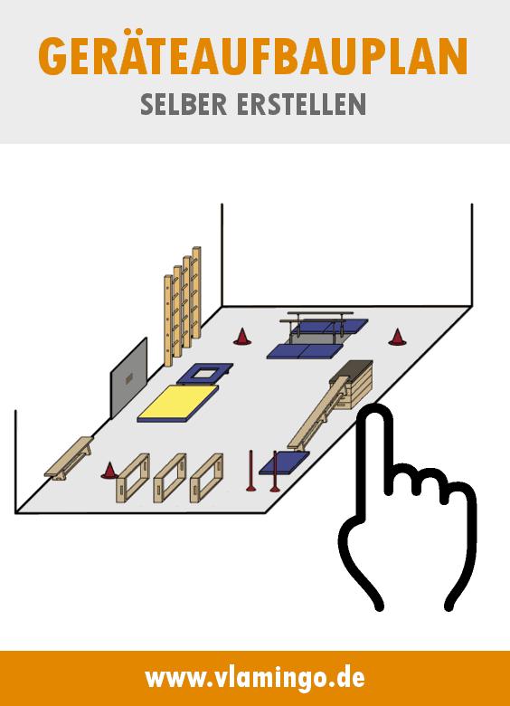 Hallenplaner - Mit wenigen Klicks einen Geräteaufbauplan selber erstellen