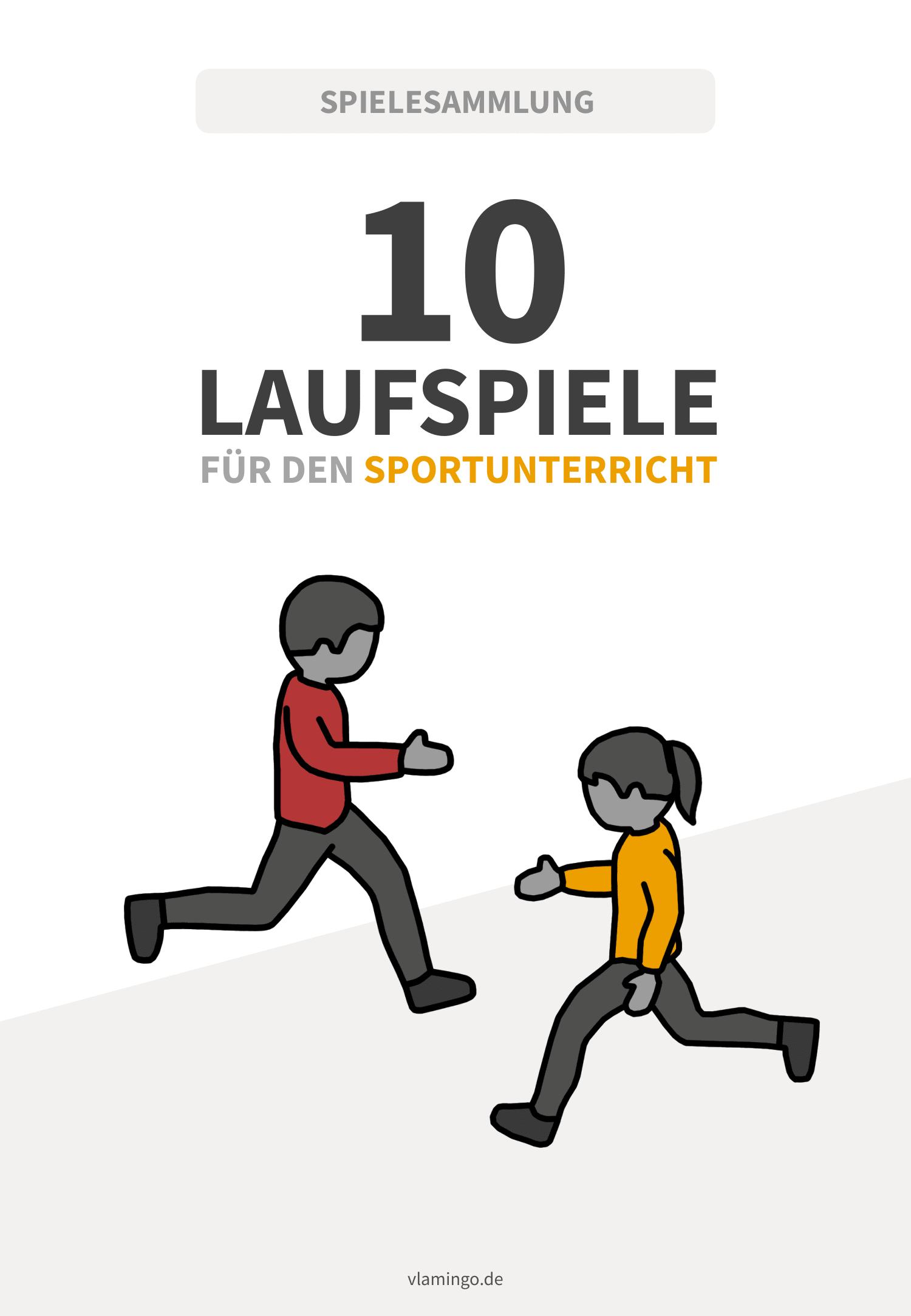 Laufspiele für den Sportunterricht