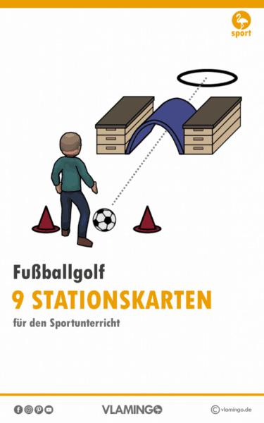 Fußballgolf Stationskarten