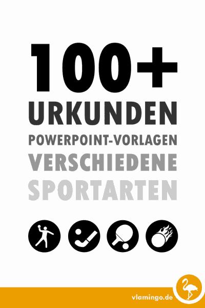 100 Urkunden-Vorlagen