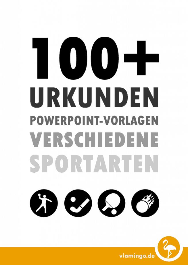 100 Kostenlose Urkunden Vorlagen Für Zahlreiche Sportarten Vlamingo