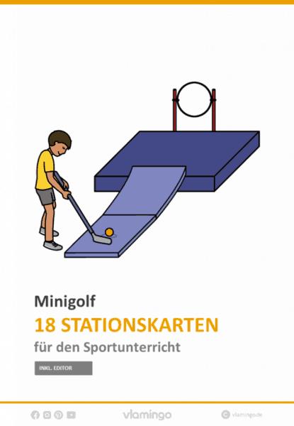 Minigolf im Sportunterricht - 18 Stationen