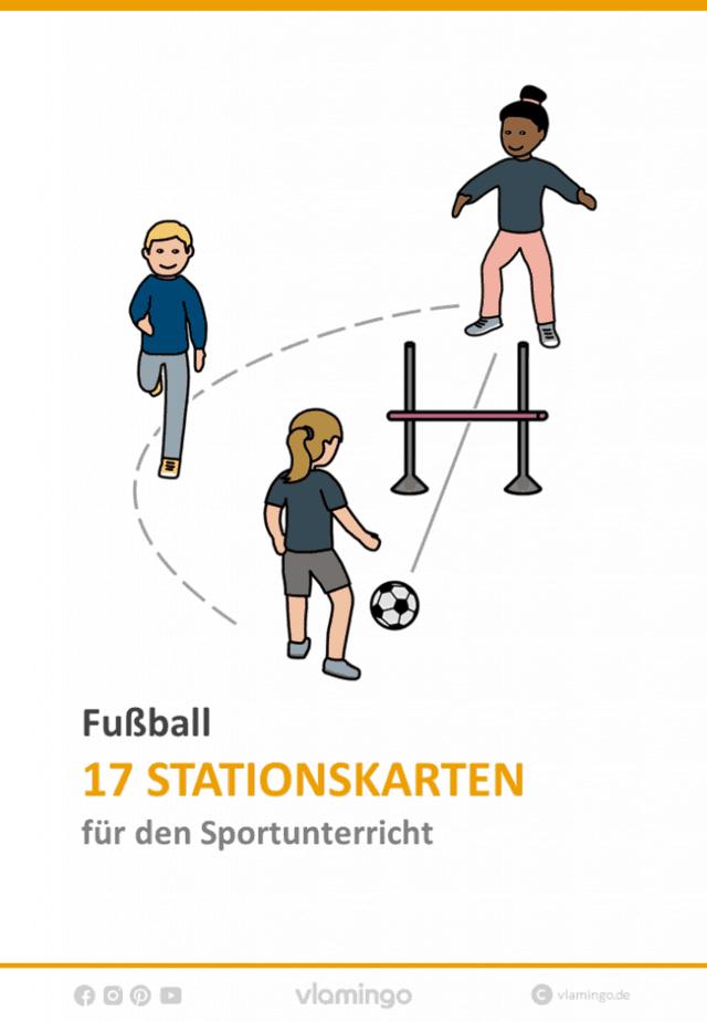 17 Fussball Stationen Ubungen Fur Den Sportunterricht