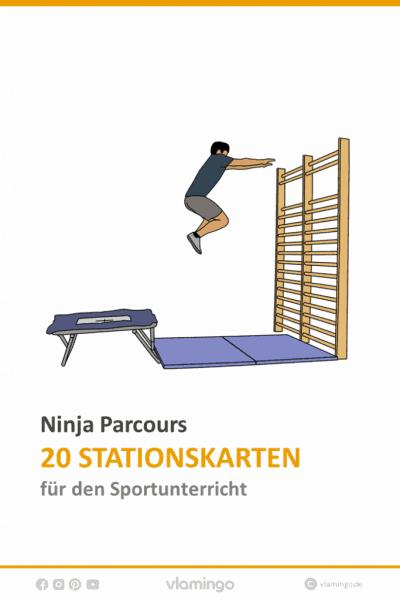 Ninja Parcours im Sportunterricht