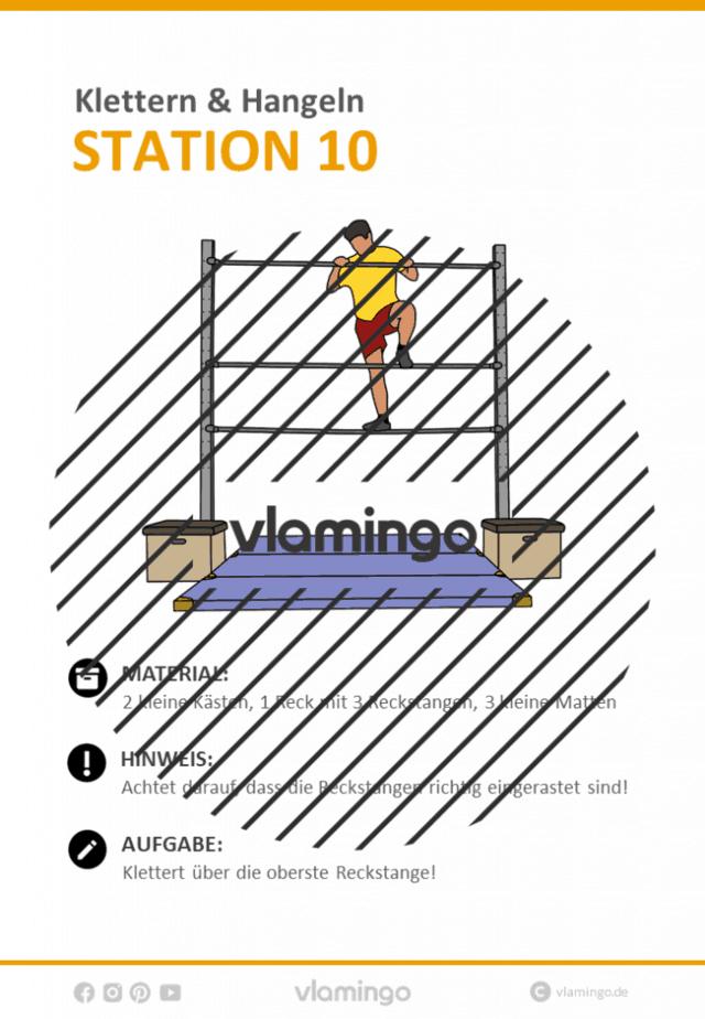 Station 10 - Klettern