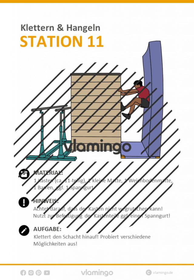 Station 11 - Klettern
