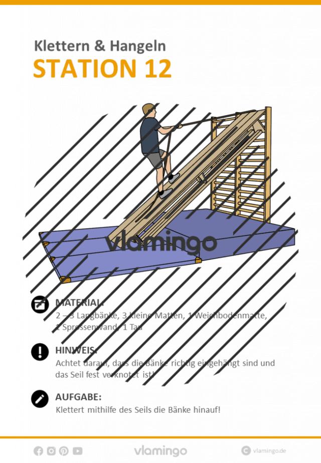Station 12 - Klettern
