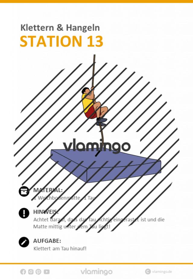 Station 13 - Klettern