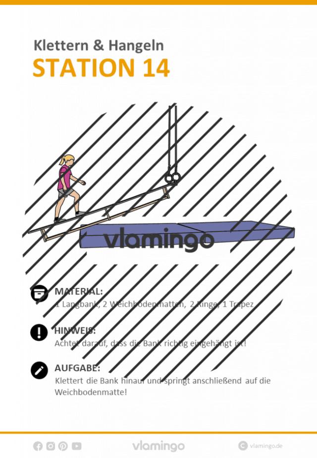 Station 14 - Klettern