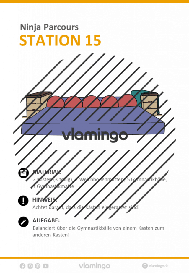 Station 15 - Ninja Parcours (Ninja Warrior)