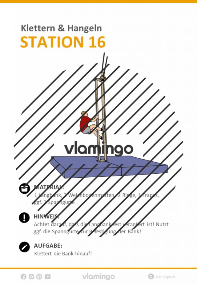 Station 16 - Klettern