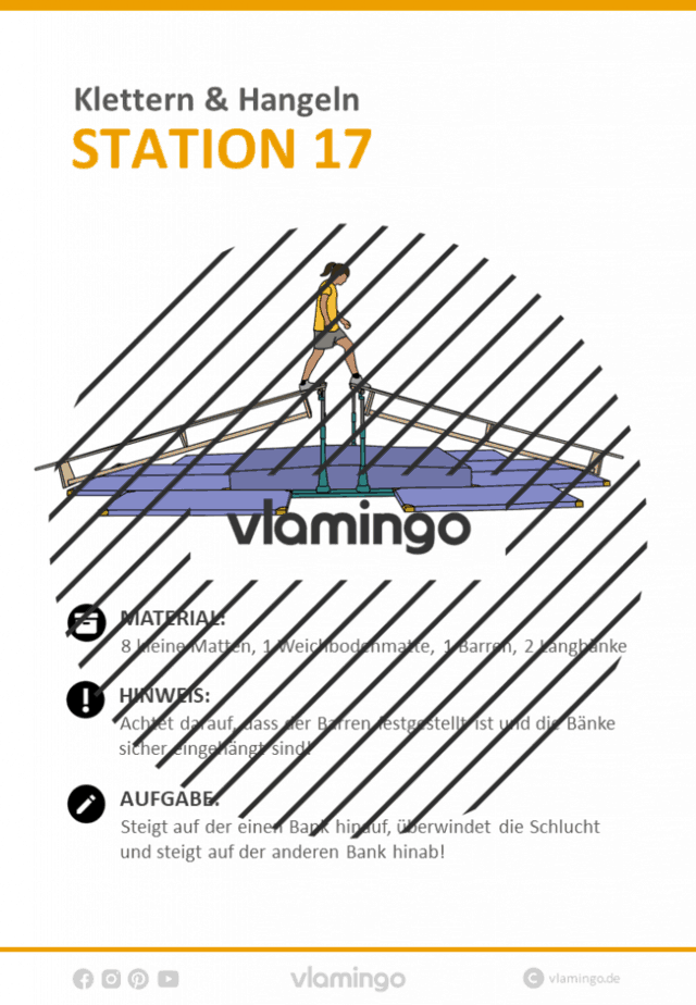 Station 17 - Klettern