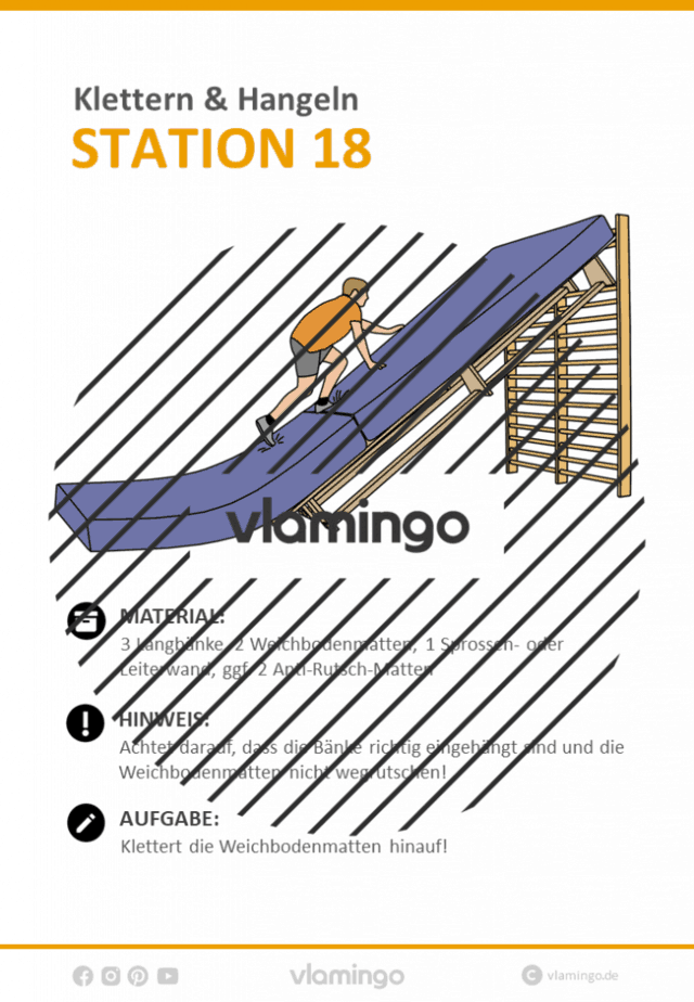 Station 18 - Klettern