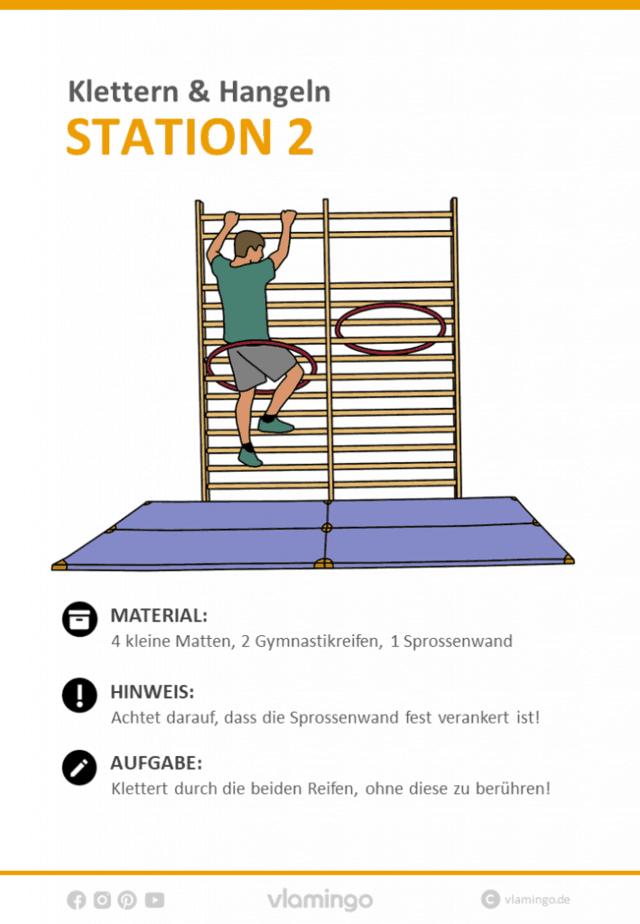 Station 2 - Klettern