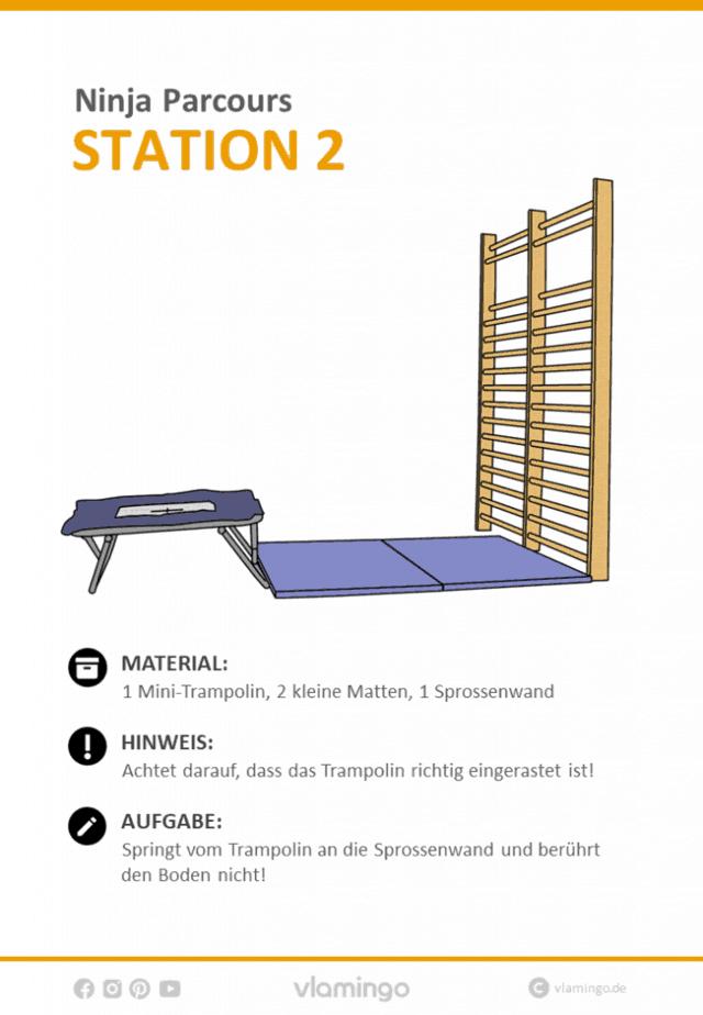 Station 2 - Ninja Parcours (Ninja Warrior)