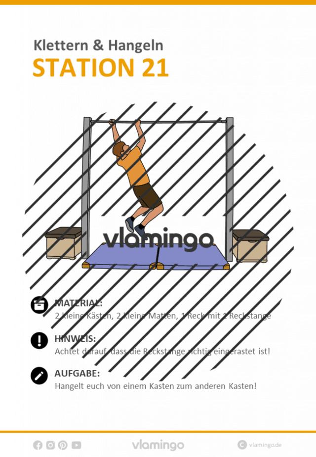 Station 21 - Klettern
