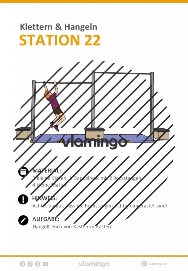 Station 22 - Klettern