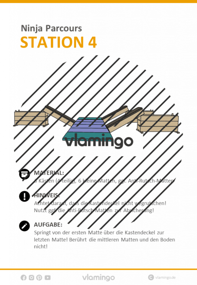Station 4 - Ninja Parcours (Ninja Warrior)