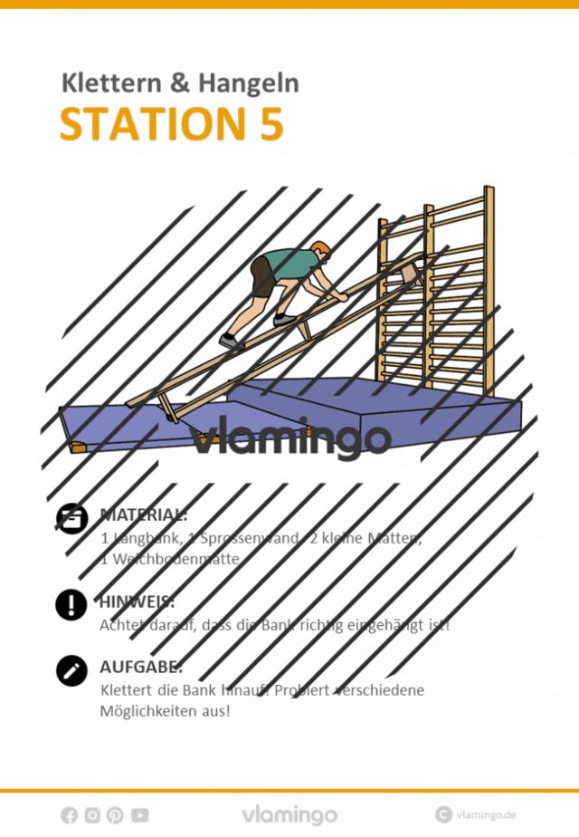 Station 5 - Klettern