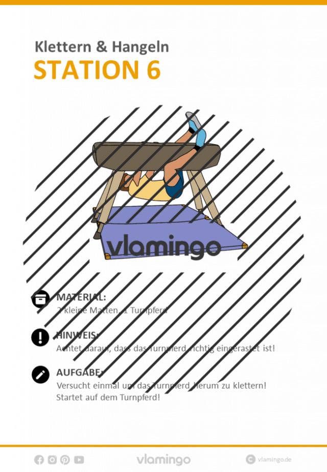 Station 6 - Klettern