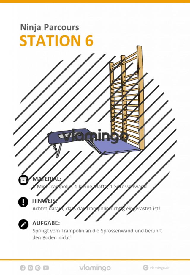 Station 6 - Ninja Parcours (Ninja Warrior)