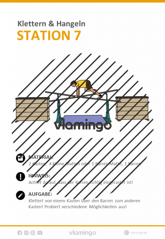 Station 7 - Klettern