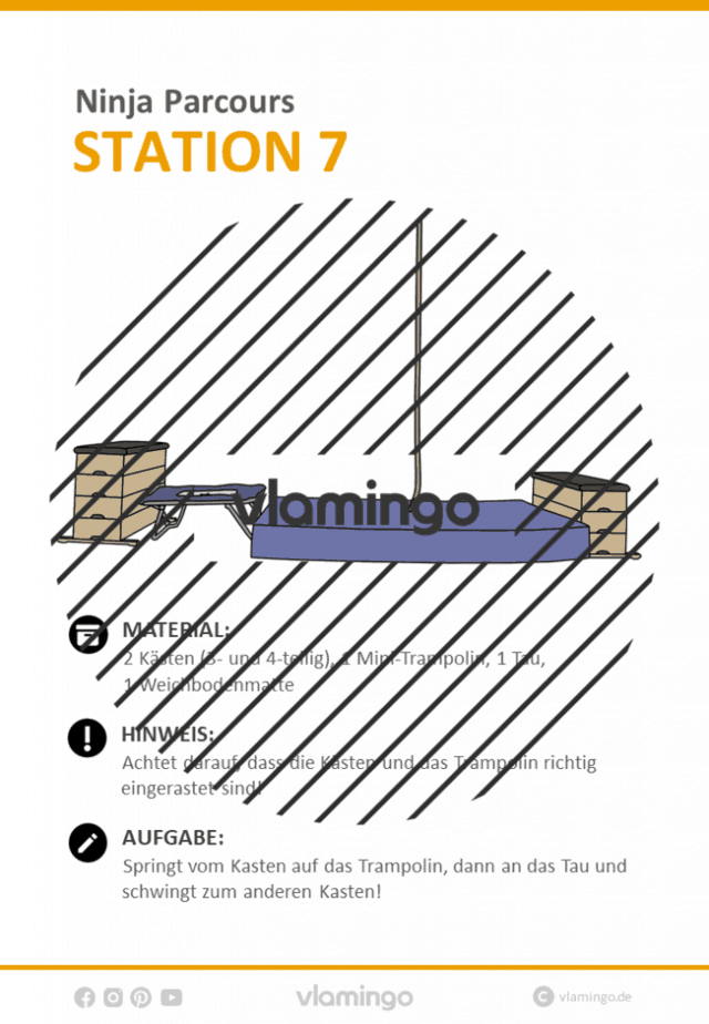 Station 7 - Ninja Parcours (Ninja Warrior)