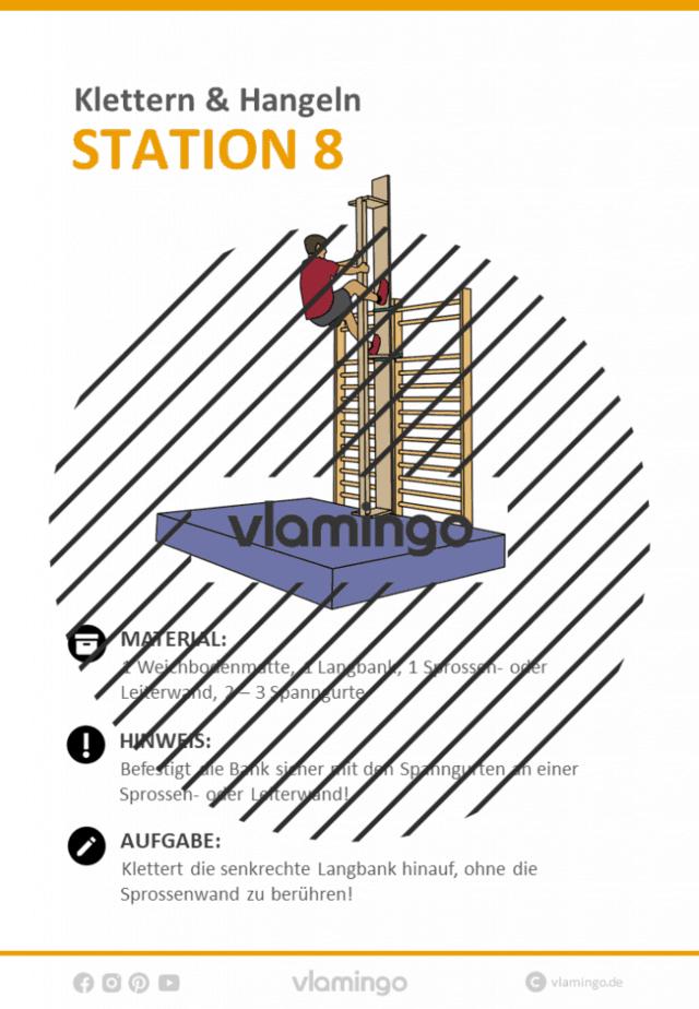 Station 8 - Klettern