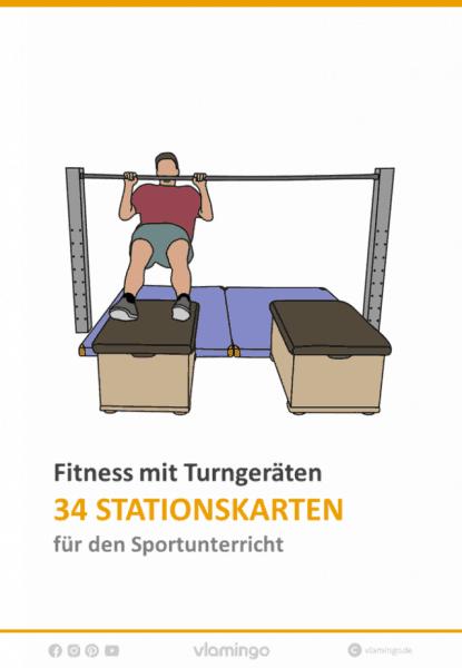 Fitness mit Turngeräten im Sportunterricht 34 Stationen (Zirkeltraining)