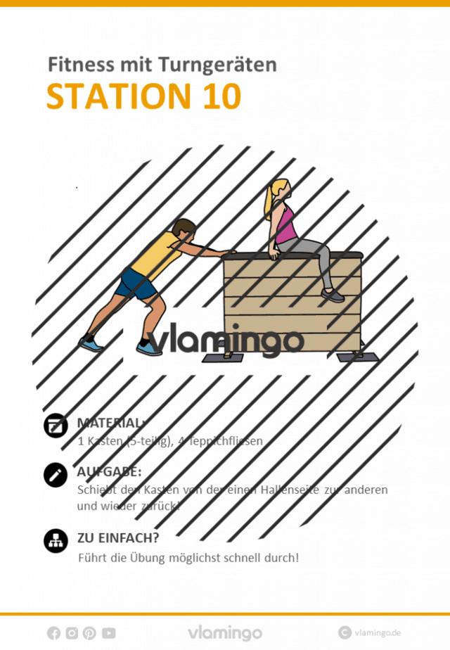 Station 10 - Geräte-Fitness im Sportunterricht