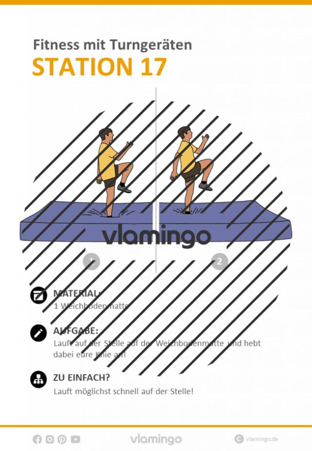 Station 17 - Fitness im Sportunterricht