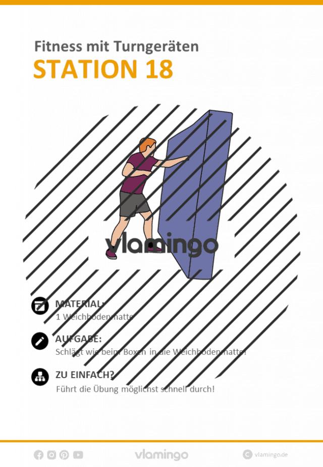 Station 18 - Fitnesstraining im Sportunterricht