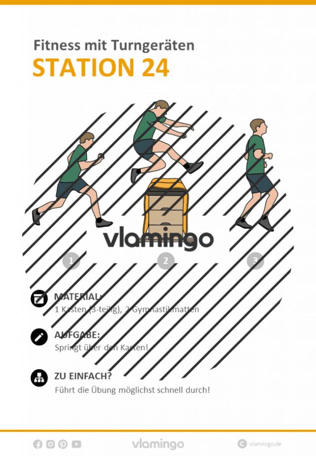 Station 24 - Gerätefitness in der Schule