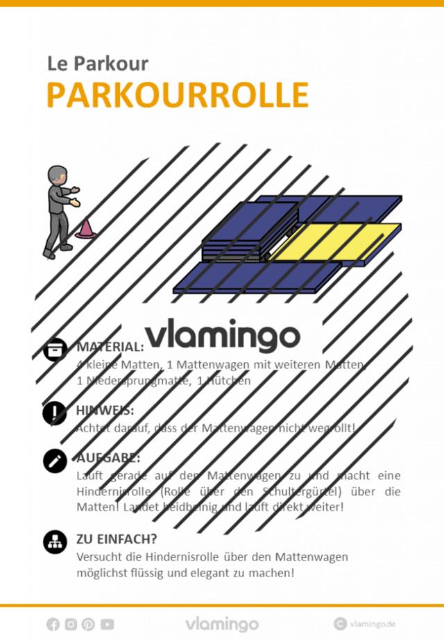 Le Parkour - Stationskarte - Parkourrolle 3