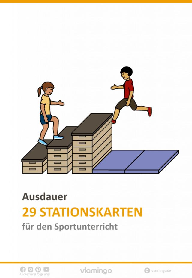 Lauf- und Ausdauertraining - 29 Stationen für den Sportunterricht