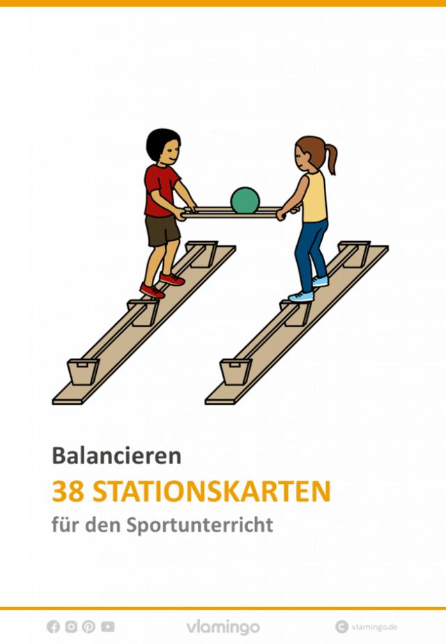 Balancieren 38 Stationskarten Für Den Sportunterricht
