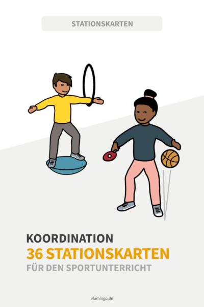 Koordination- 36 koordinative Übungen für den Sportunterricht
