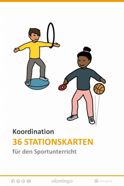 Koordination im Sportunterricht - 36 koordinative Übungen