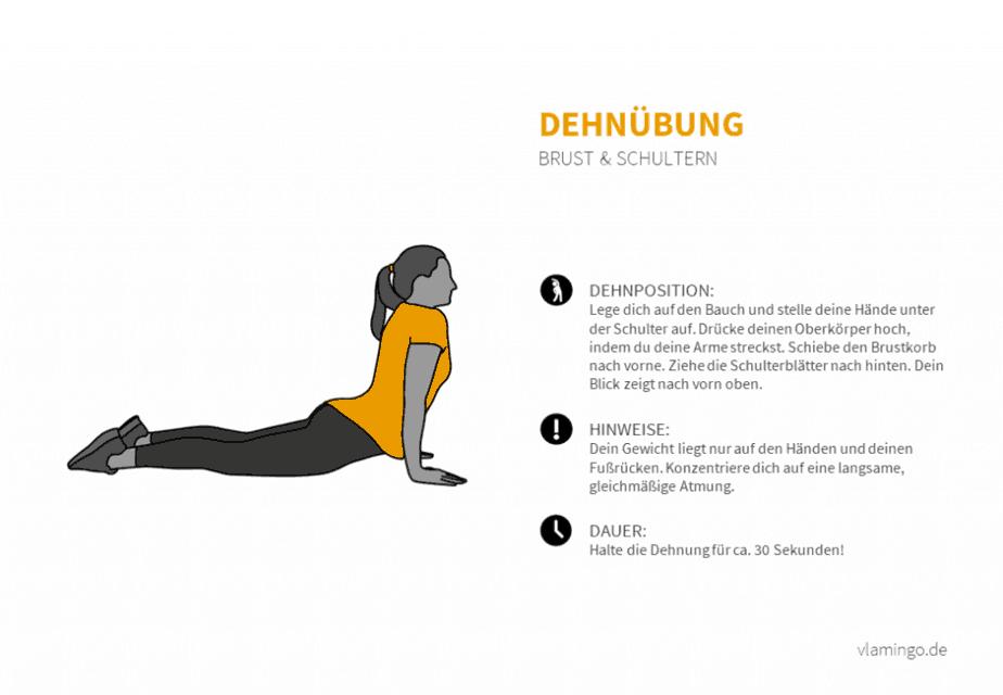 Dehnübung 008 - Brust und Schultern
