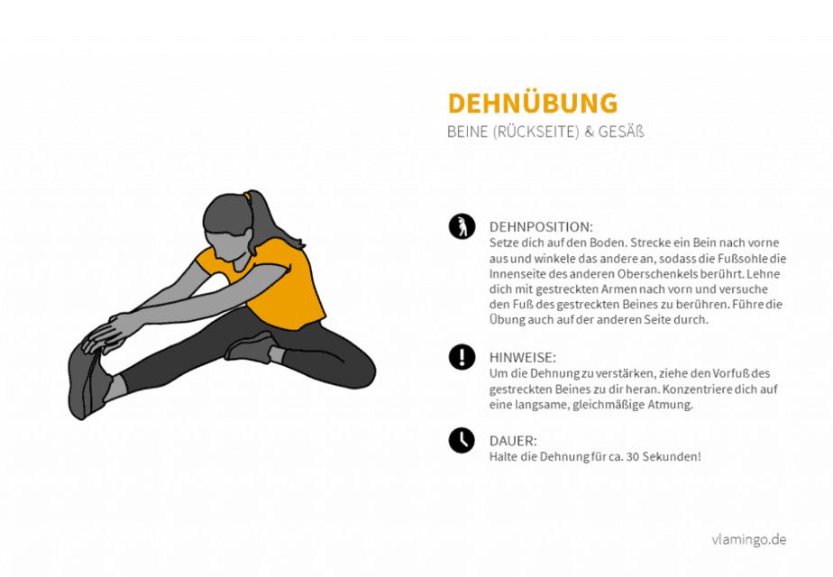 Dehnübung 029 -  Beine