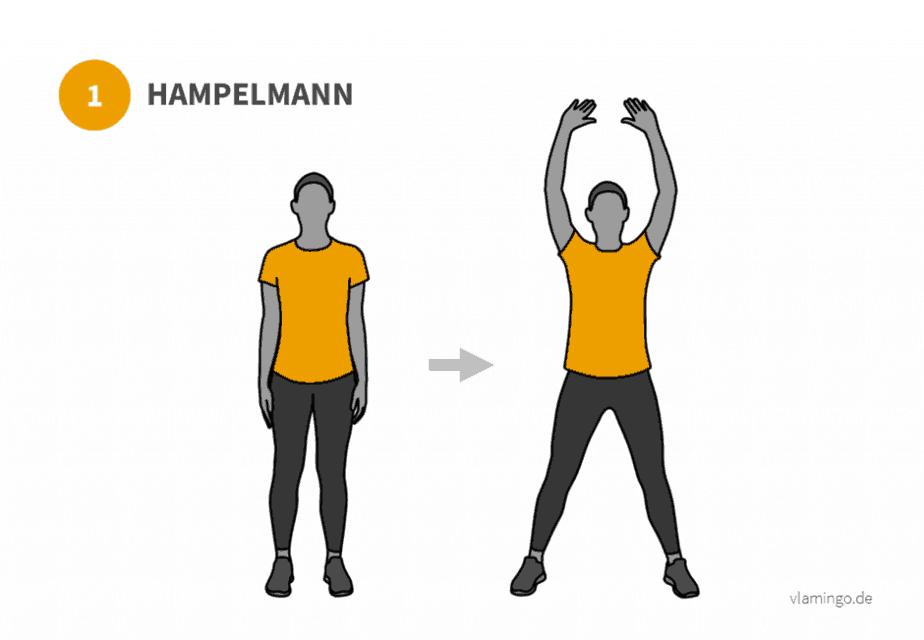 Übung 1 - Hampelmann