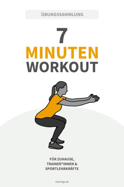 7 Minuten Workout - Übungen für den Sportunterricht