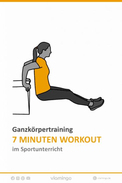 7 Minuten Workout im Sportunterricht