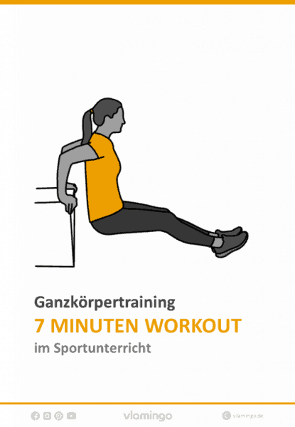 7 Minuten Workout im Sportunterricht