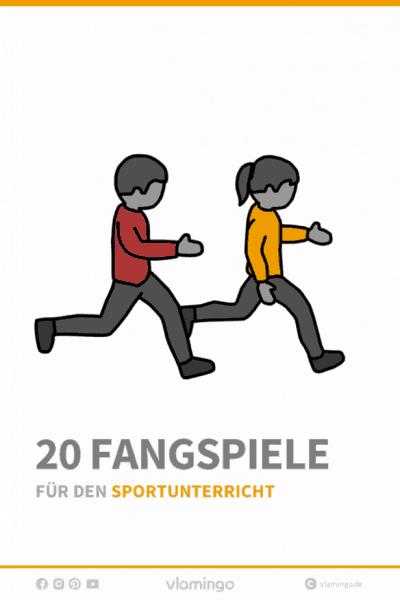 20 Fangspiele für den Sportunterricht - Deckblatt