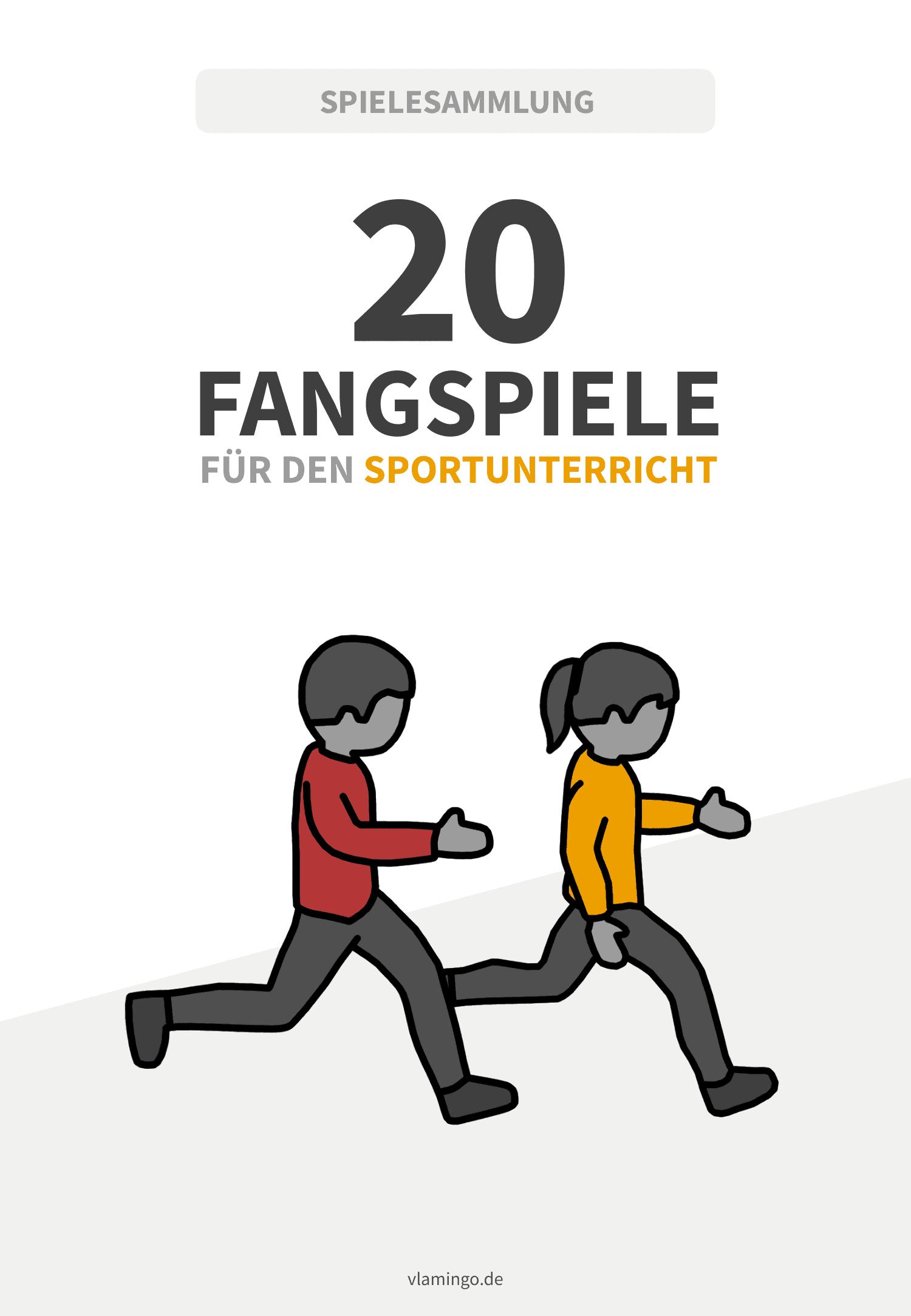 20 Fangspiele für den Sportunterricht
