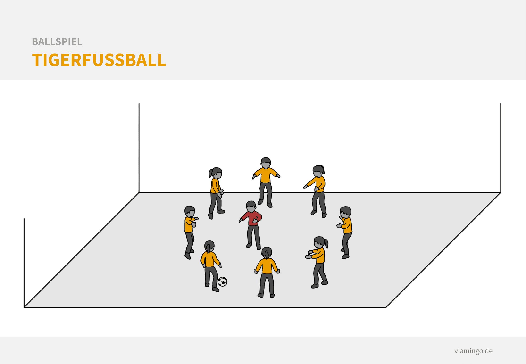 Fußball Aufwärmspiel: Tigerfußball