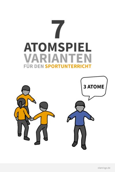 Atomspiel - 7 Varianten - Deckblatt