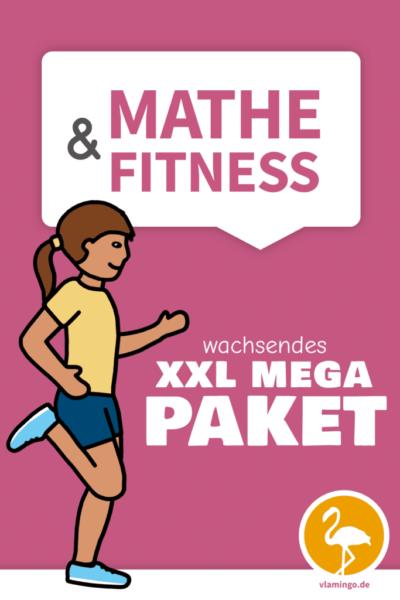 Mathe&Fitness - XXL MEGA PAKET