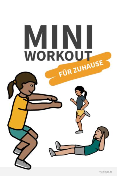 Mini-Workout für Zuhause - vlamingo